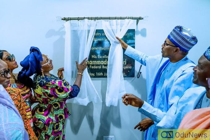 Buhari Commissions Woman Affairs Ministry Building