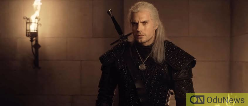 Henry Cavill as Geralt in THE WITCHER season 1