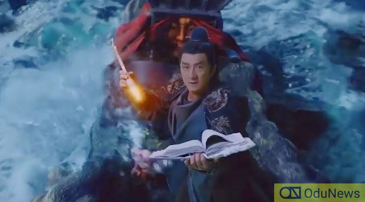 Jackie Chan plays a monster hunter