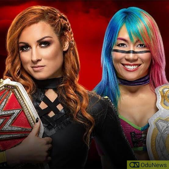 Becky Lynch fought Asuka in a one-on-one match