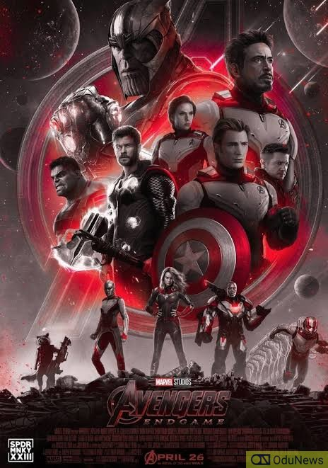 AVENGERS: ENDGAME is the highest grossing film of all-time