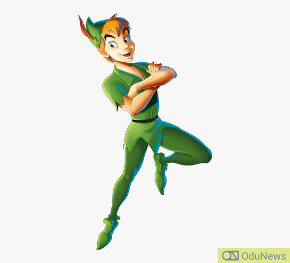 Peter Pan is a boy who cannot age