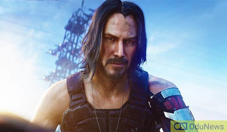 Actor Keanu Reeves lends his likeness and voice to CYBERPUNK 2077