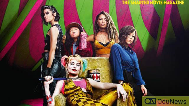 Birds of Prey stars pose in a picture