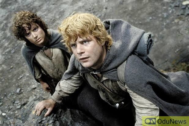 Elijah Wood and Sean Astin in The Lord of the Rings