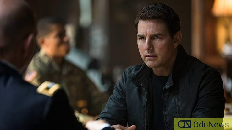 The character of Jack Reacher was played by actor Tom Cruise