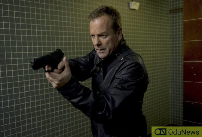 24 starred Kiefer Sutherland as the enigmatic Jack Bauer
