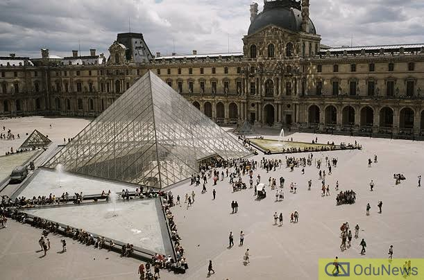 The Louvre, the museum in France from which the Mona Lisa was stolen
