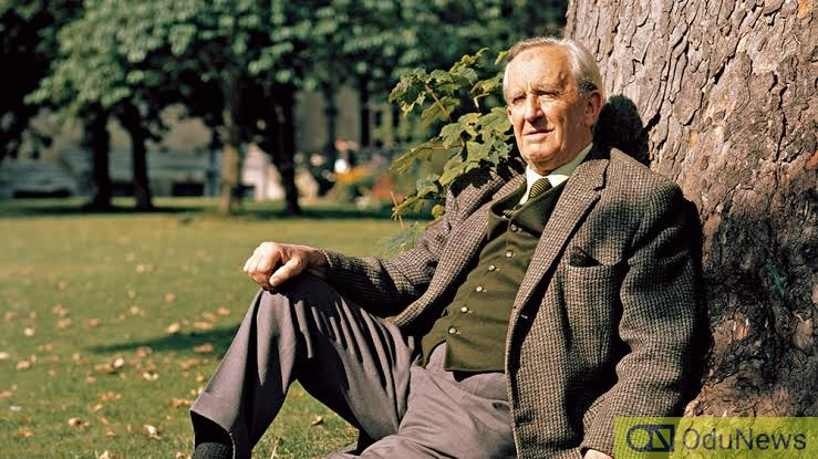 Christopher's father, writer J.R.R. Tolkien
