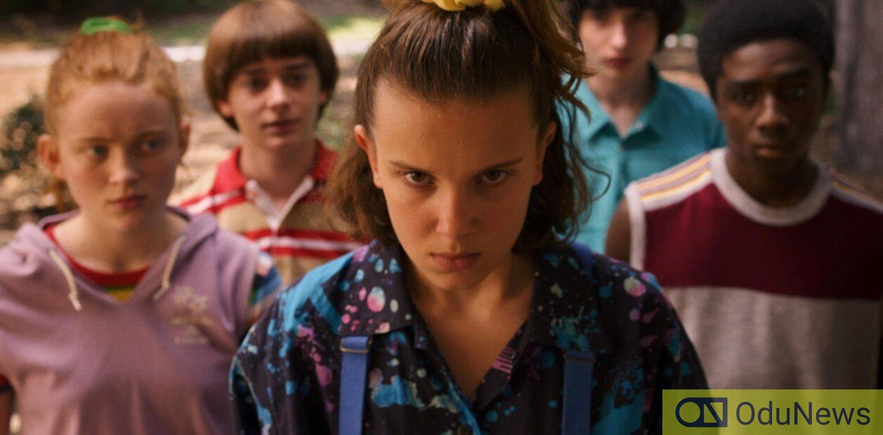 Eleven and her friends