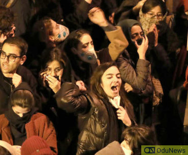 students protesting
