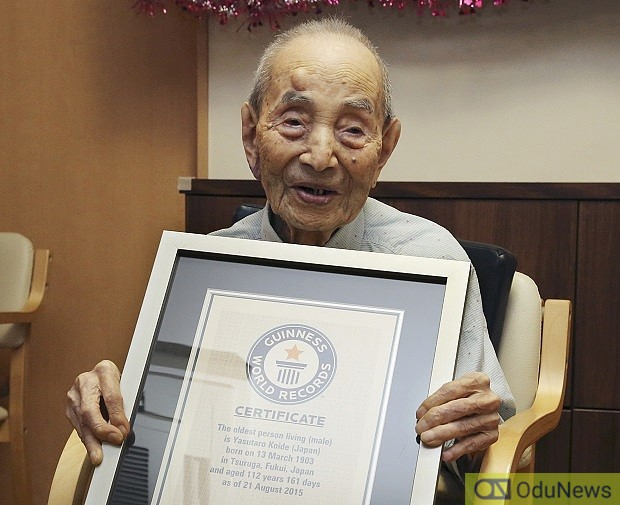 Days After Recognition, World's Oldest Man Dies Aged 112