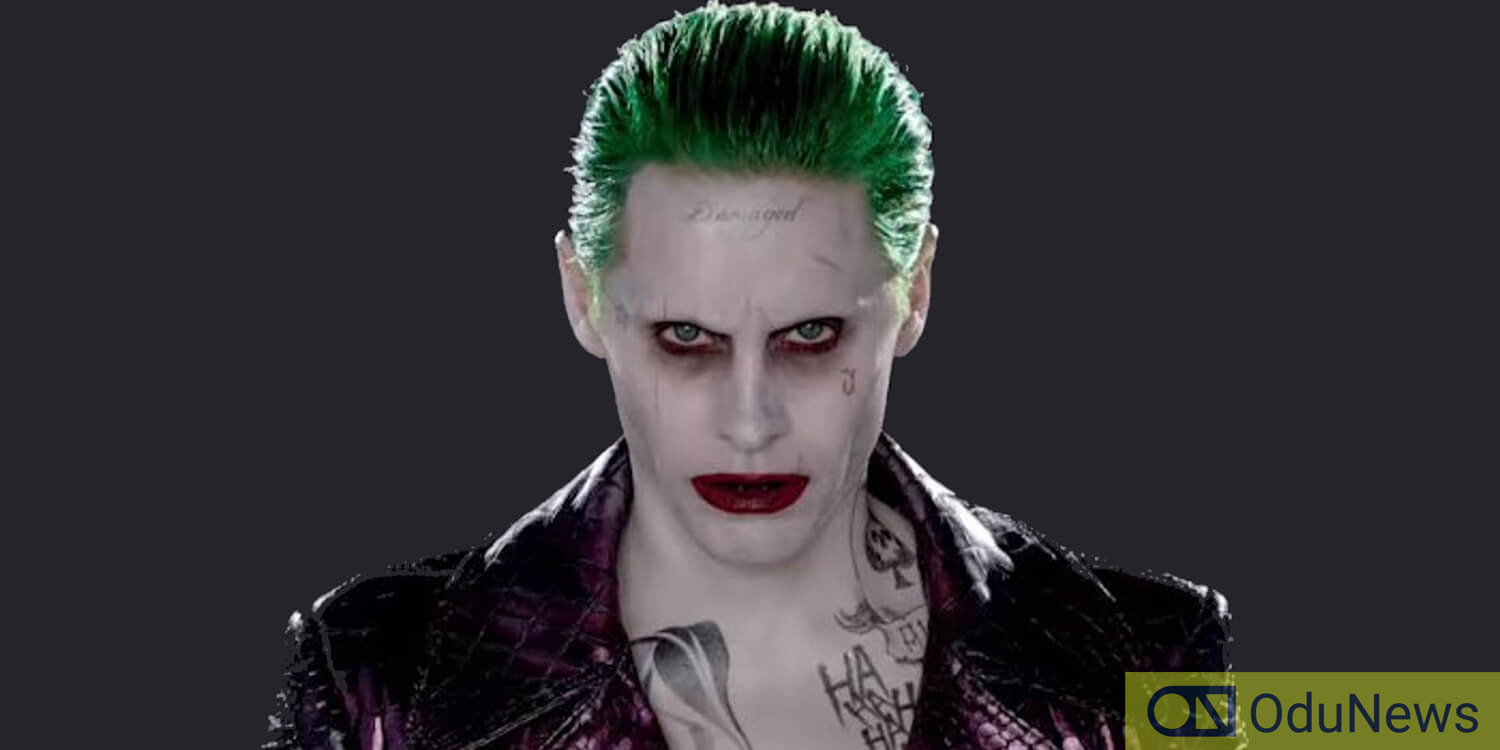 Jared Leto as Joker in 2016's SUICIDE SQUAD