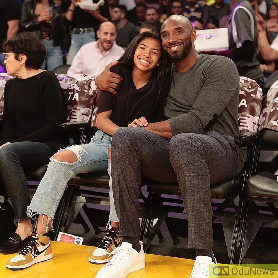 Kobe and Gianna were laid to rest in a private ceremony