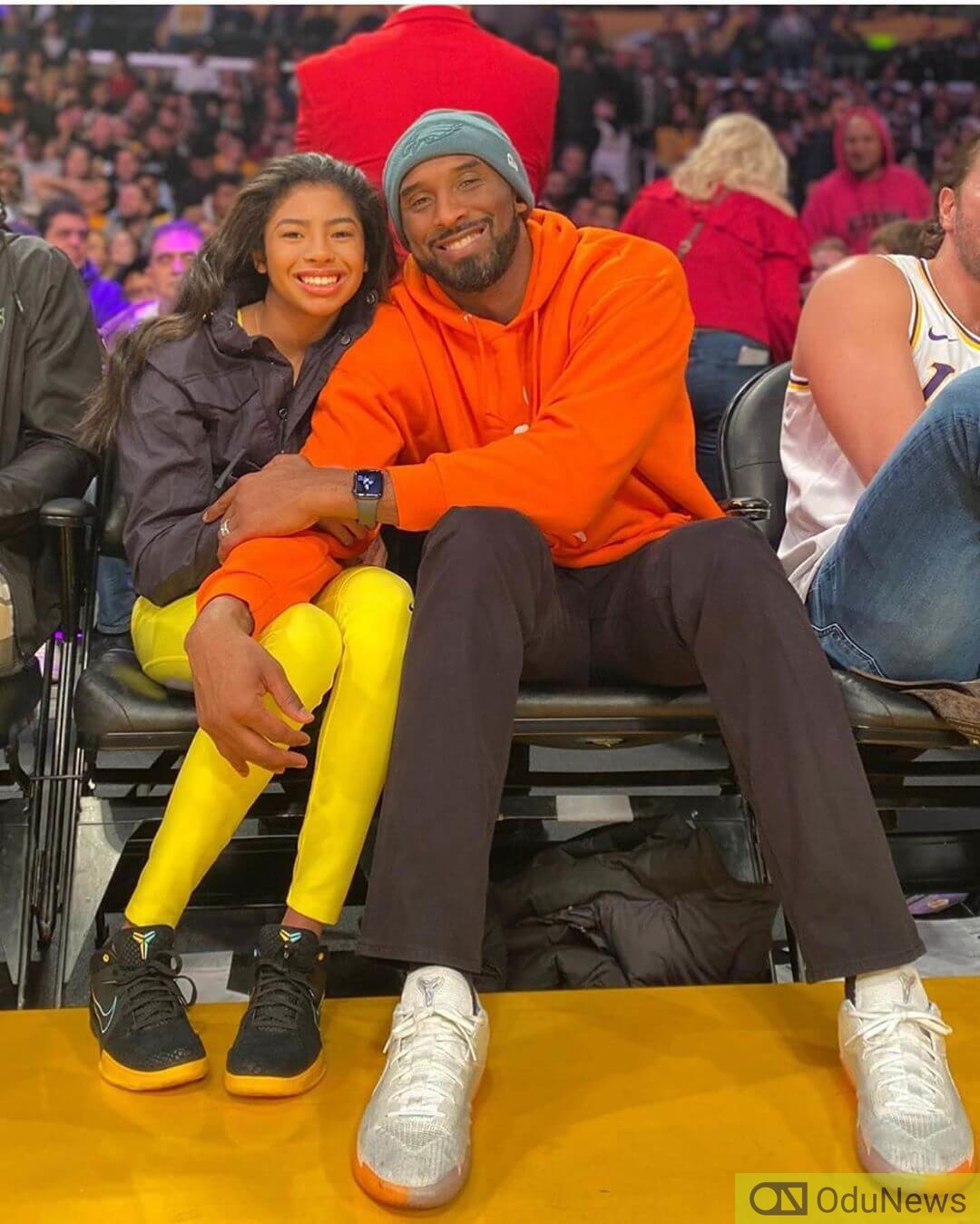 Kobe Bryant and his daughter Gianni died alongside others in a helicopter crash