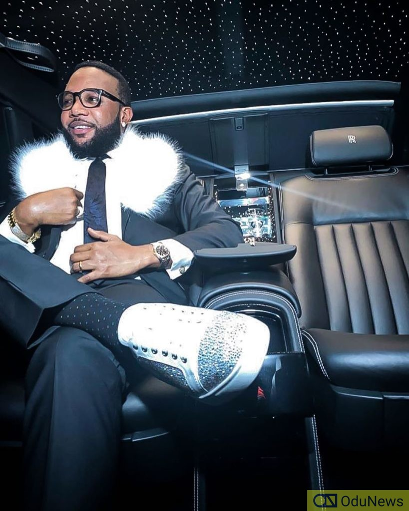 E-Money Showers Staff With Car Gifts Oh His Birthday [PHOTOS]