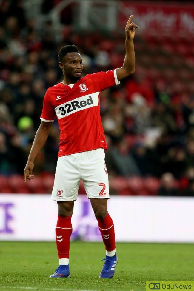 John Obi Mikel joined Turkish side Trabzonspor in summer of 2019