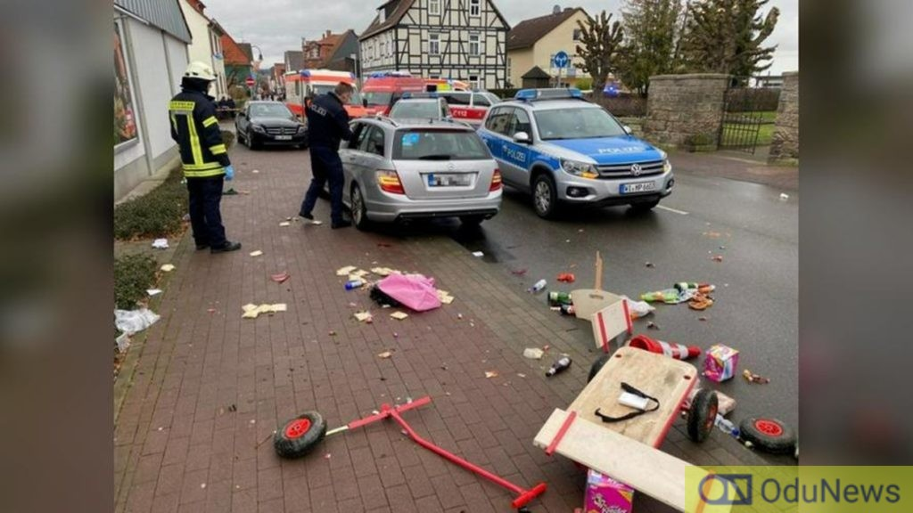 Many Injured After Car Runs Into Crowd At German Carnival
