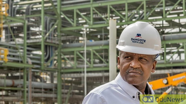 Otedola Says Dangote's Refinery Is The '8th Wonder Of The World'