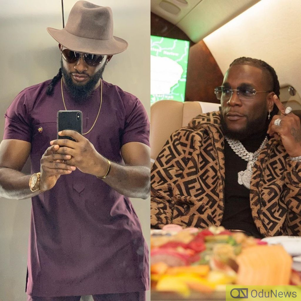Uti Nwachuku Airs His Views On Burna Boy's Self-Appraisal