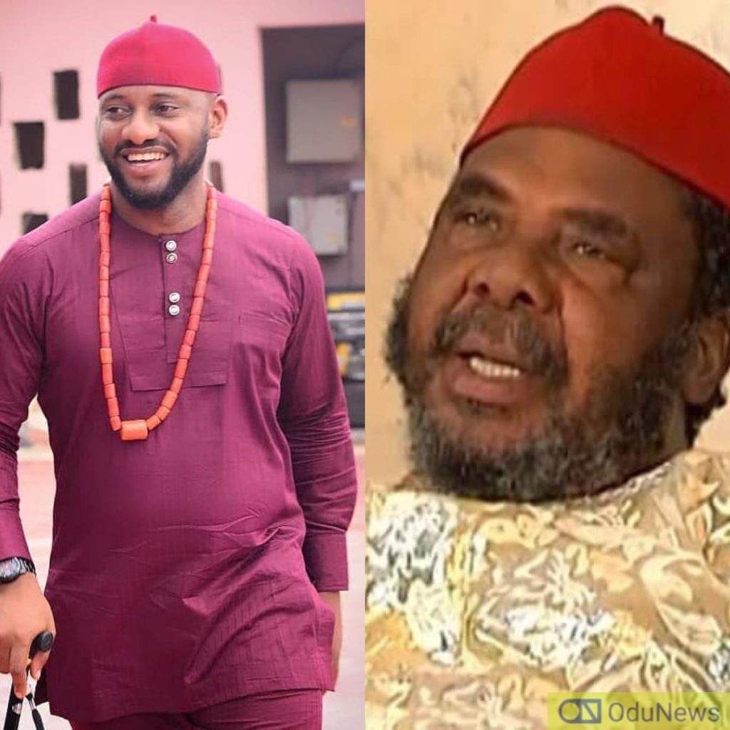 Yul Edochie Reacts To His Father's Controversial Comments About Marriage Proposal