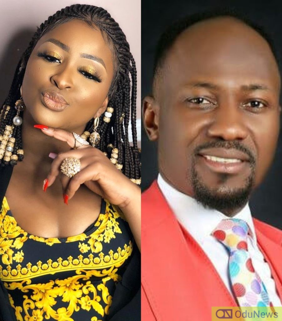 Your Side Chick Is One Of Us - Etinosa Hits Back At Apostle Suleman Over Bleach