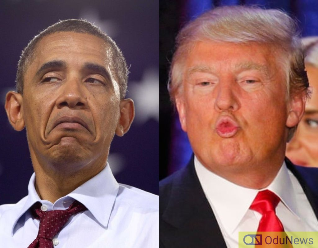 Obama, Trump In Twitter War Over US Economy Boost