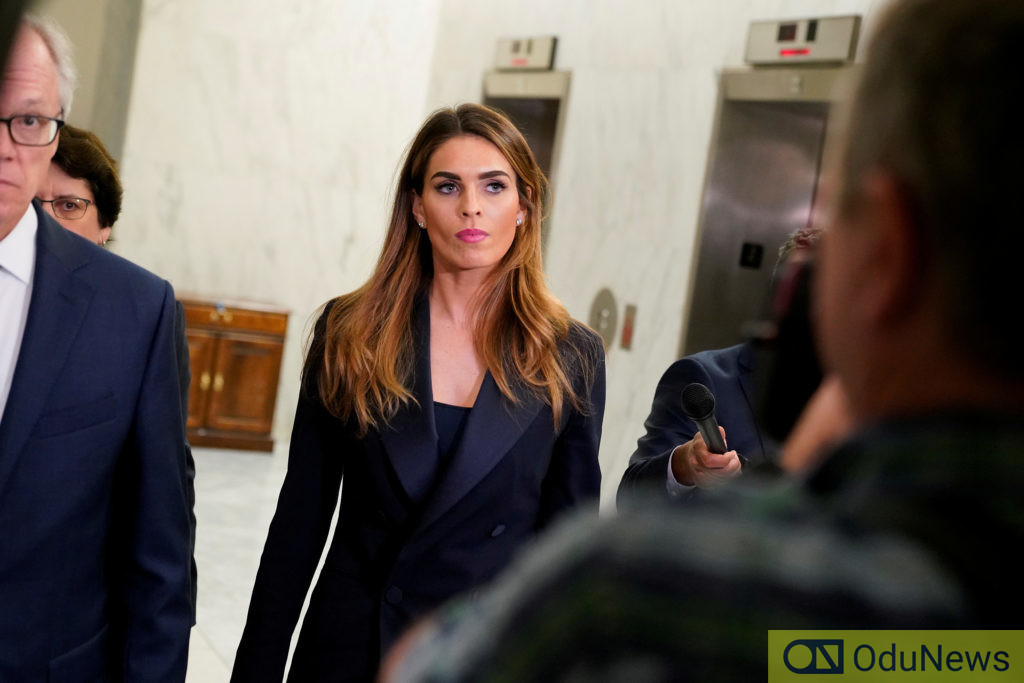 Hope Hicks is coming back to White House to work as Trump's aide