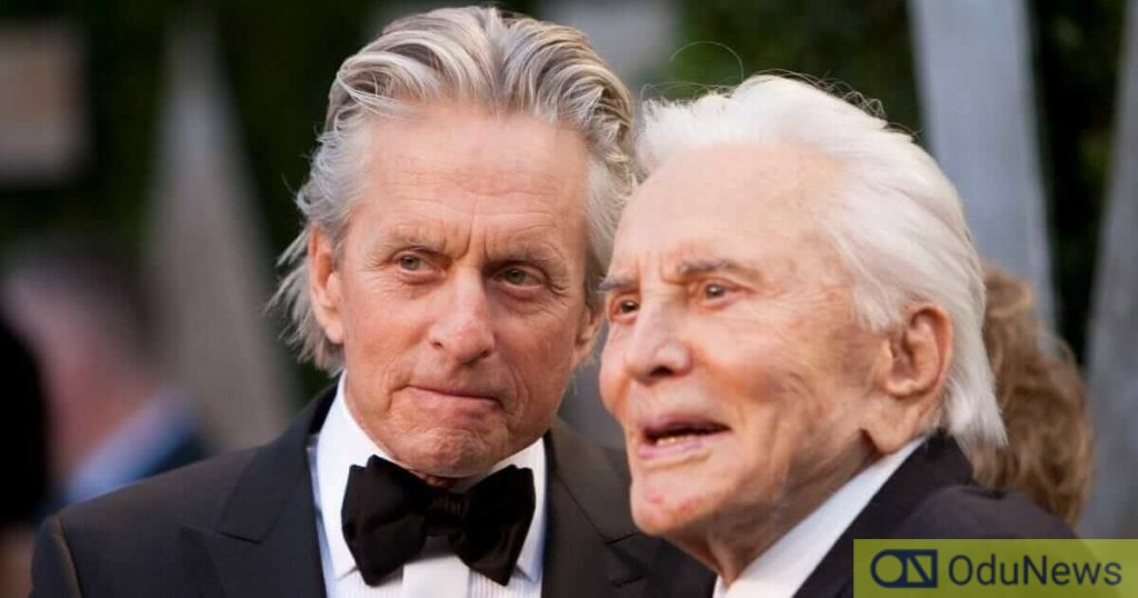 Kirk Douglas snubs son Michael in his will