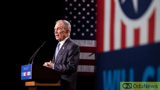 Michael Bloomberg at Democratic Presidential debate