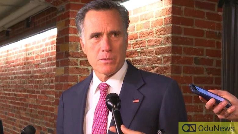 Mitt Romney is the first Republican to support Trump Impeachment for abuse of power