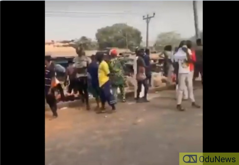 Protest Rocks Ogun As SARS Operatives Allegedly Kill Two Traders