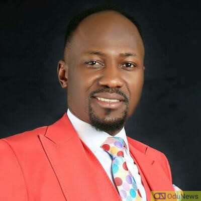 Apostle Suleiman is a popular Nigerian cleric