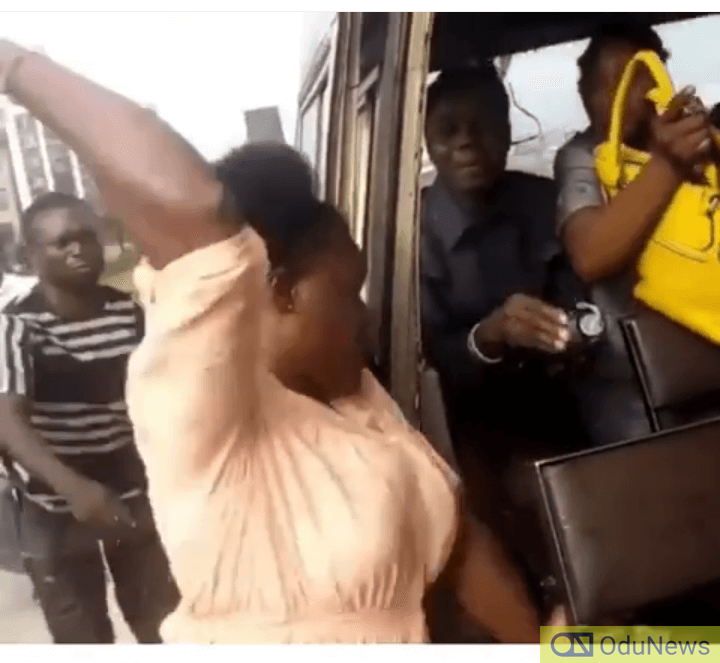 Lady Attacks Conductor, Rips Shirt Over Ten Naira [VIDEO]