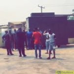 SARS operatives and soldiers clash in Abule Egba Lagos