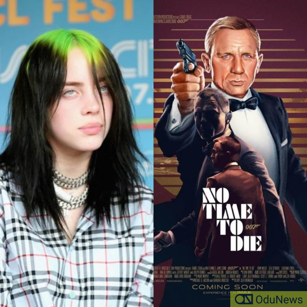 Billie Eilish set to drop theme song for No Time to Die