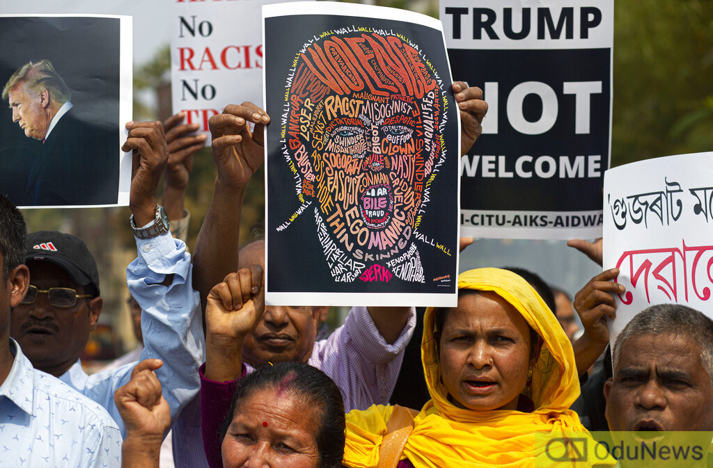 Trump In India: Ten Killed In Delhi Protests