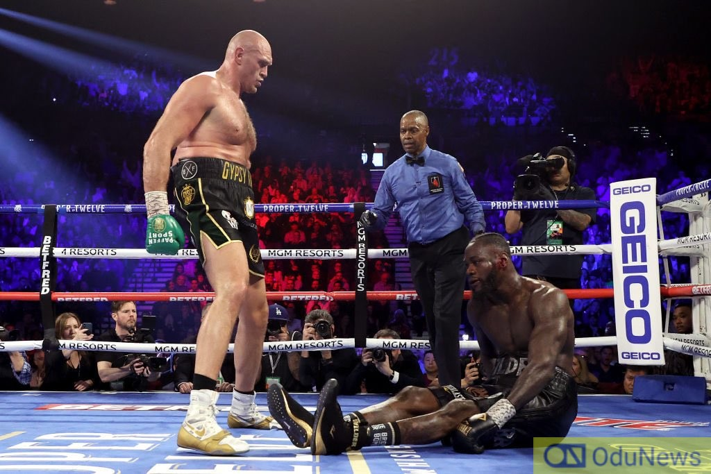Tyson Fury Knocks Out Wilder In 7th Round To Win WBC Title