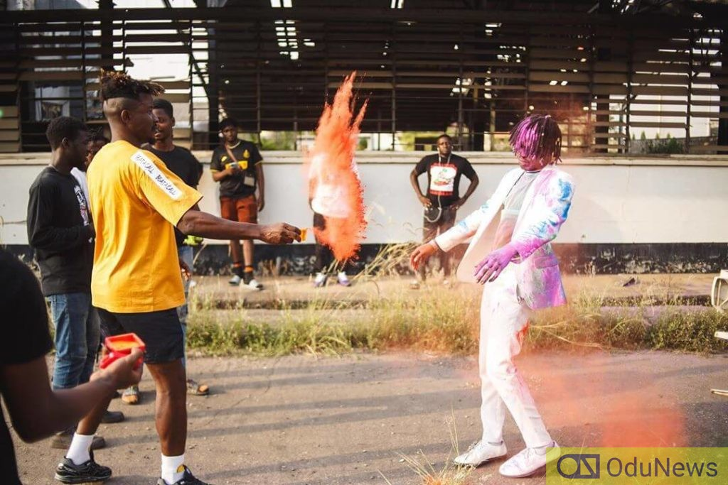 Fireboy DML strikes the right notes in Vibration video