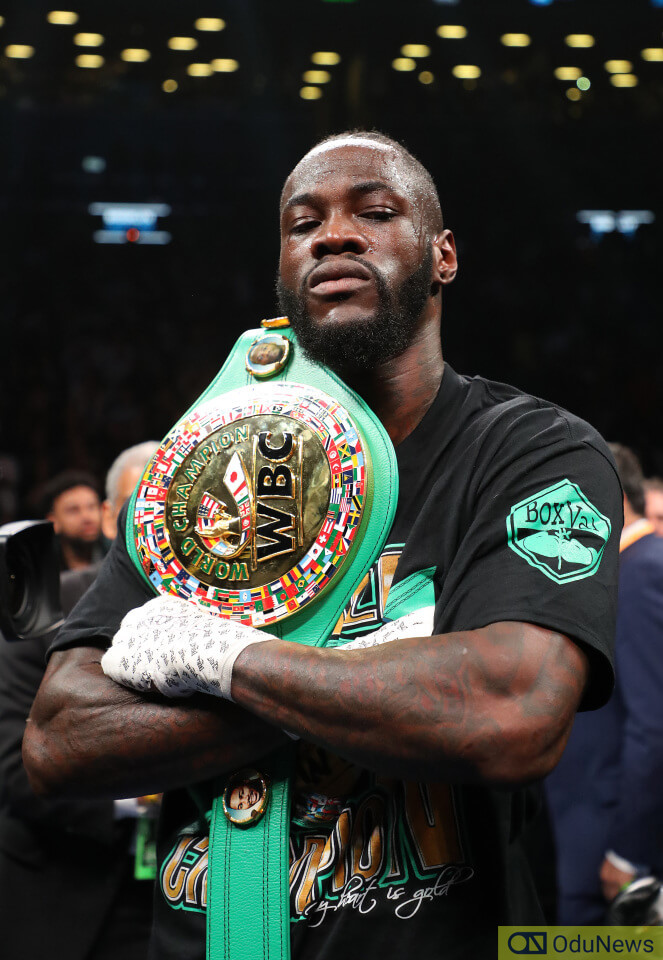 Deontay Wilder is known for his formidable punching power