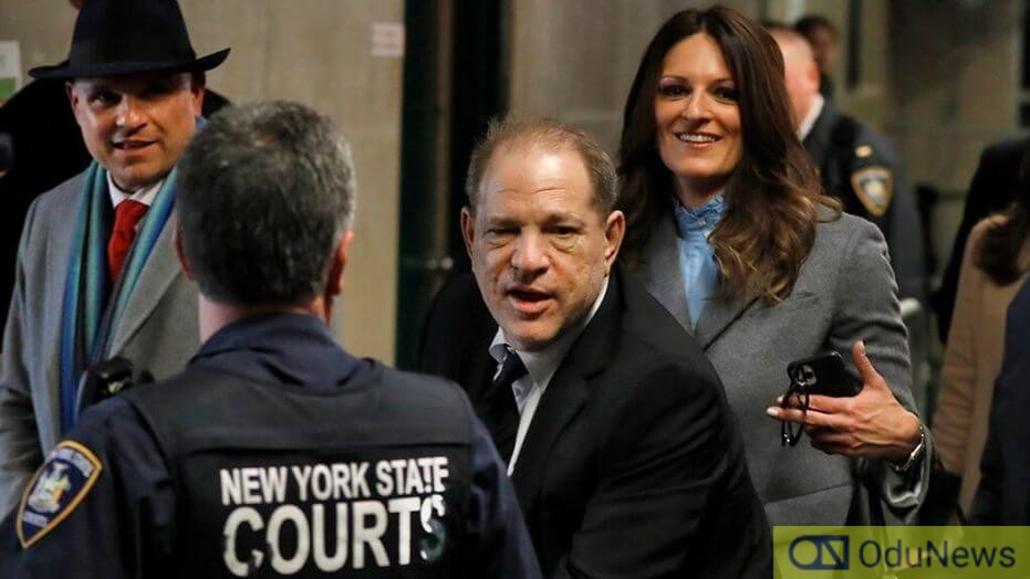 Harvey Weinstein was convicted on a two-count charge of third degree rape