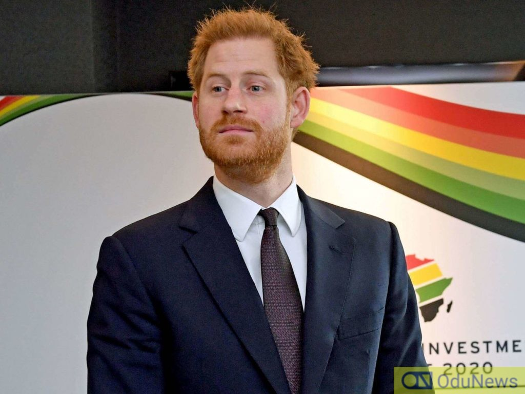 Prince Harry removes royal title from his name
