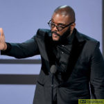 Tyler Perry hasn't issued any statement on the tragic incident