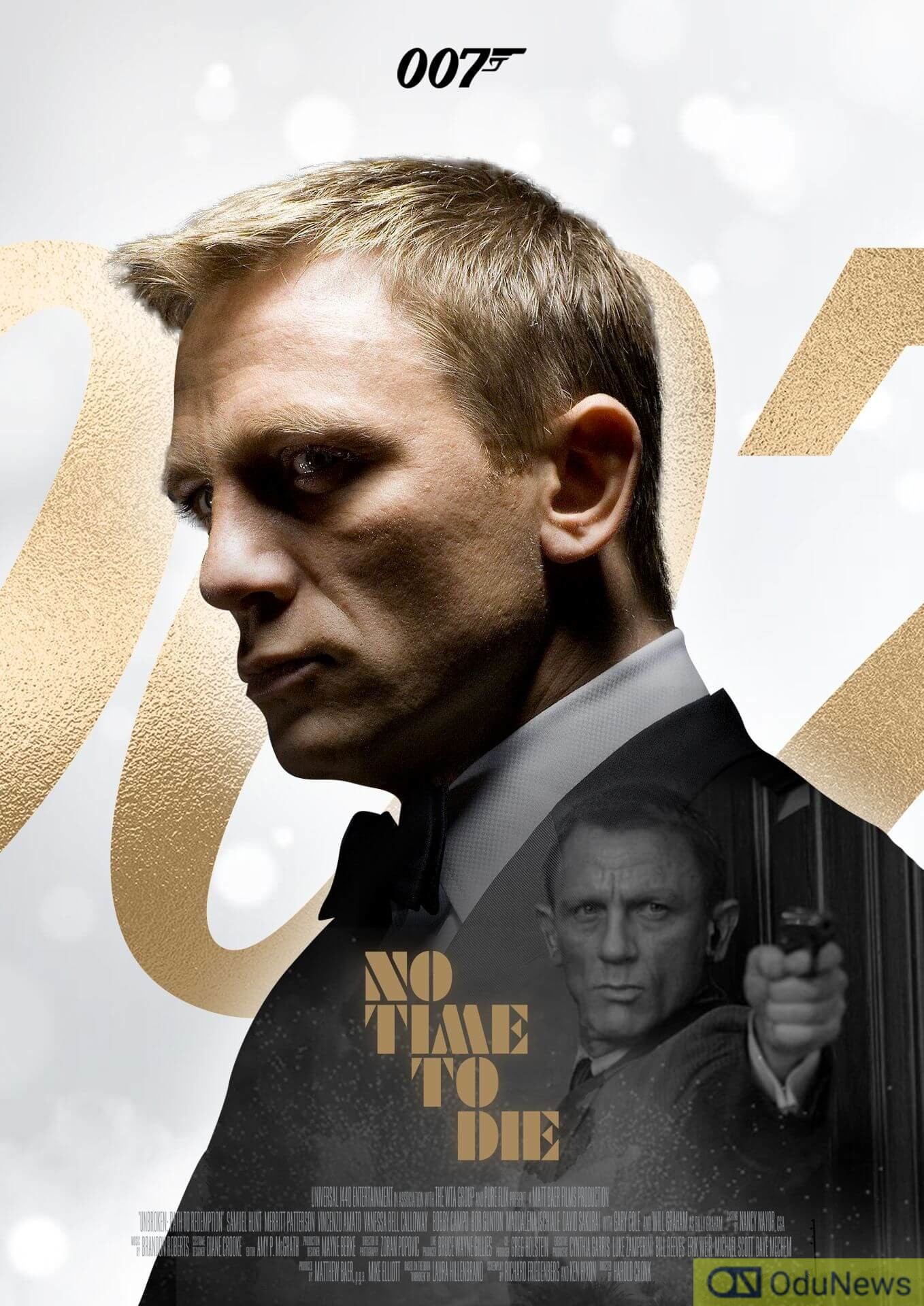 No Time To Die marks Daniel Craig's last outing as the spy James Bond