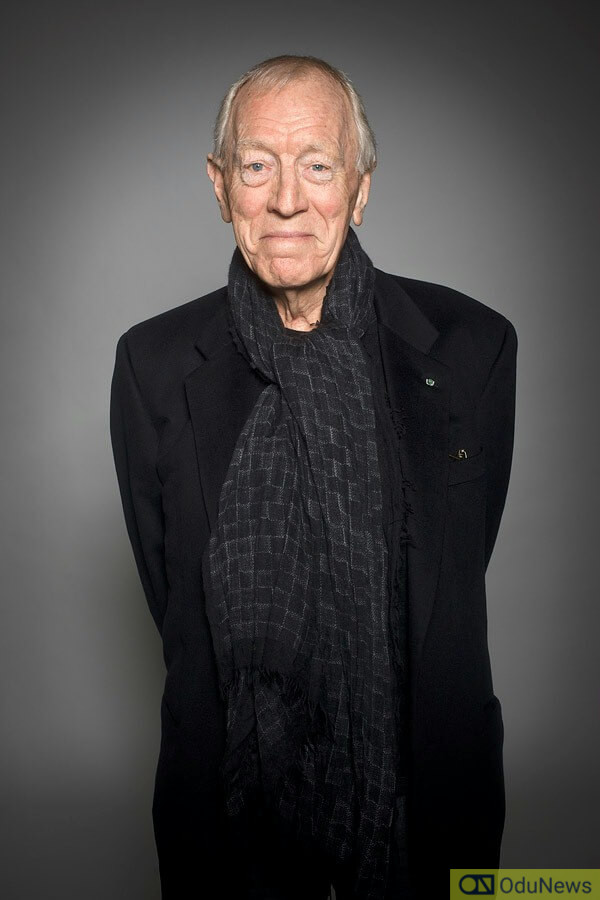 Max Von Sydow played the Three-Eyed Raven in the fourth season of GAME OF THRONES