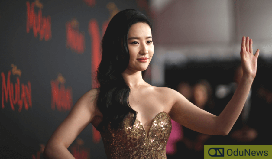 Lui Yifei, the actress who played Mulan at the film's premiere