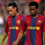 Samuel Eto'o's Message To Ronaldinho As He Celebrated His Birthday In Jail