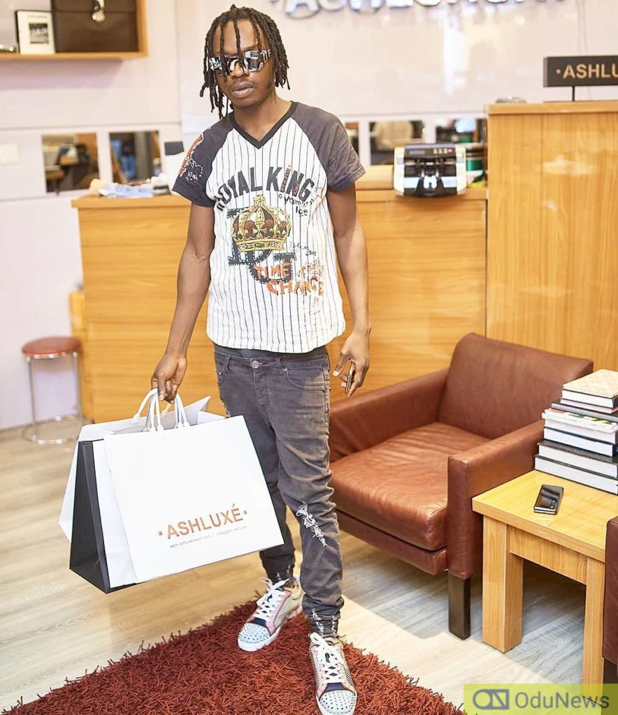 Naira Marley Gives Zlatan's Baby Mama The Perfect Birthday Present