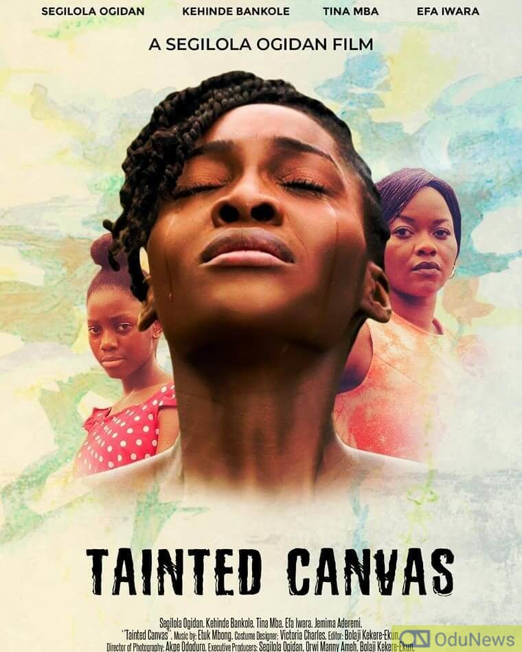 TAINTED CANVAS is the story of a British girl who returns to Nigeria in her quest for healing