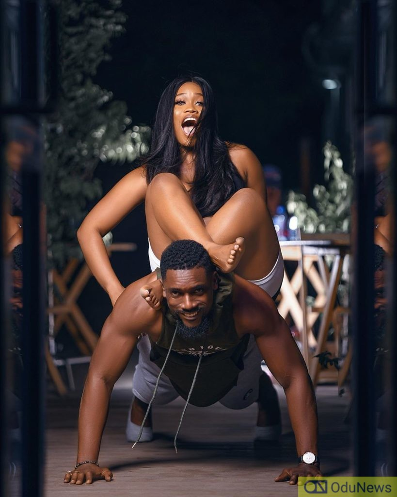 Cee-C Moves Past Peruzzi Drama, Spotted Locking Lips With Mawuli Gavor